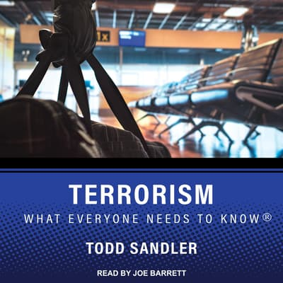 Terrorism by Todd Sandler audiobook