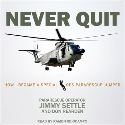 Never Quit by Jimmy Settle audiobook
