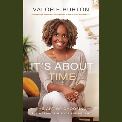 It's About Time by Valorie Burton audiobook