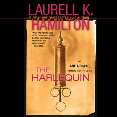 The Harlequin by Laurell K. Hamilton audiobook