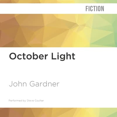 October Light by John Gardner audiobook