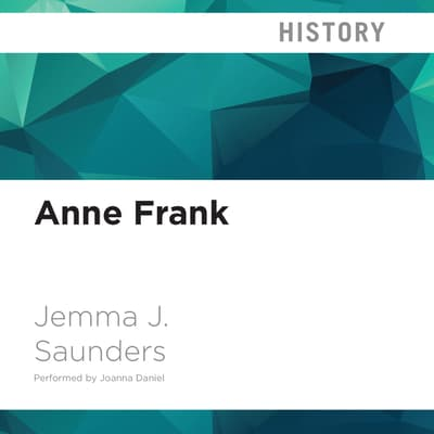 Anne Frank by Jemma J. Saunders audiobook