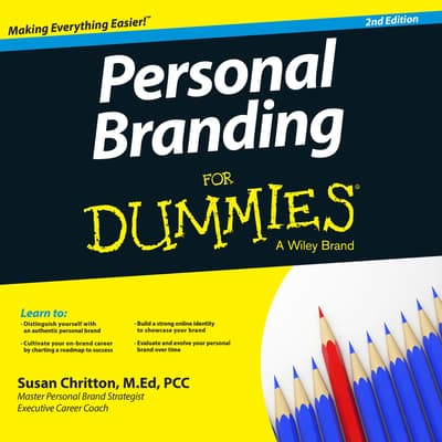 Personal Branding For Dummies by Susan Chritton audiobook