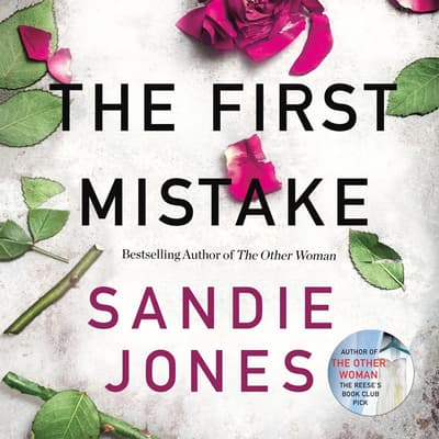 The First Mistake by Sandie Jones audiobook