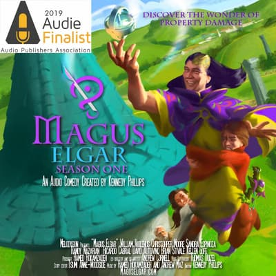 Magus Elgar: Season One by Kennedy Phillips audiobook