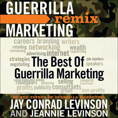 The Best of Guerrilla Marketing by Jay Conrad Levinson audiobook
