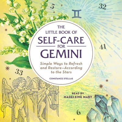 The Little Book of Self-Care for Gemini by Constance Stellas audiobook