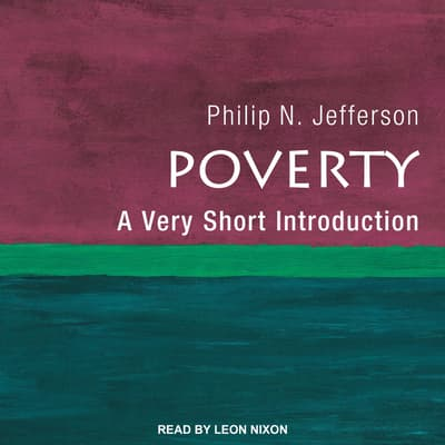 Poverty by Philip N. Jefferson audiobook