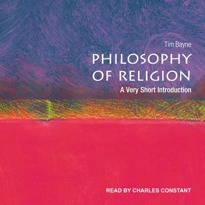 Philosophy of Religion by Tim Bayne audiobook