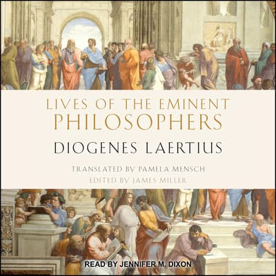 Lives of the Eminent Philosophers by Diogenes Laertius audiobook