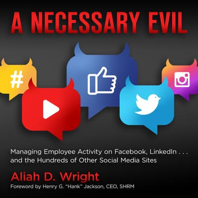 A Necessary Evil by Aliah D. Wright audiobook