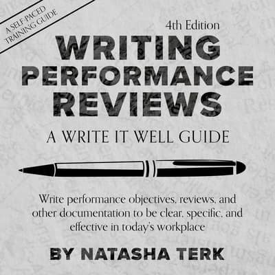 Writing Performance Reviews by Natasha Terk audiobook