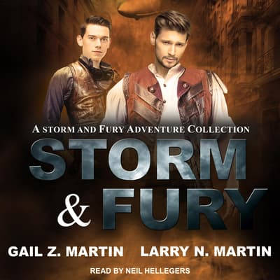 Storm & Fury by Gail Z. Martin audiobook
