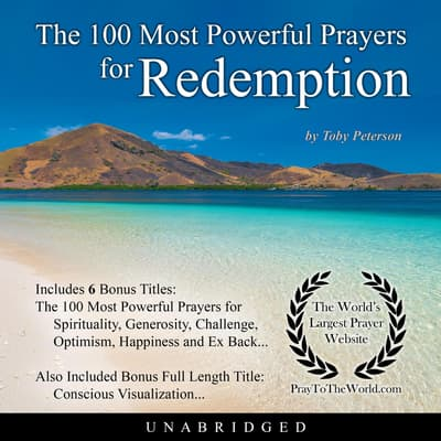 The 100 Most Powerful Prayers for Redemption by Toby Peterson audiobook