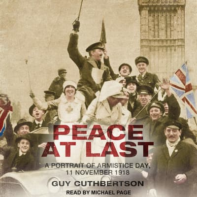 Peace at Last by Guy Cuthbertson audiobook