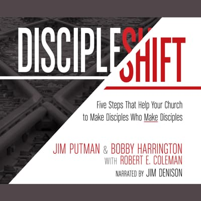DiscipleShift by Bobby Harrington audiobook