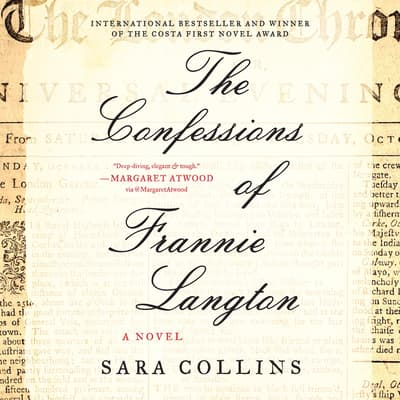 The Confessions of Frannie Langton by Sara Collins audiobook