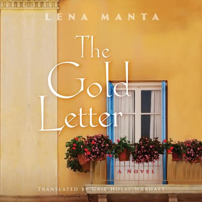 The Gold Letter by Lena Manta audiobook