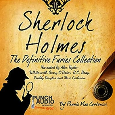 Sherlock Holmes: The Definitive Furies Collection: Twenty Sherlock Holmes Crime Mysteries by Pennie Mae Cartawick audiobook