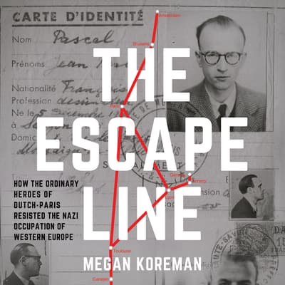 The Escape Line by Megan Koreman audiobook
