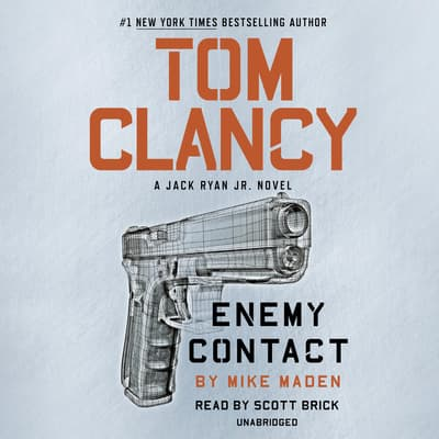 Tom Clancy Enemy Contact by Mike Maden audiobook