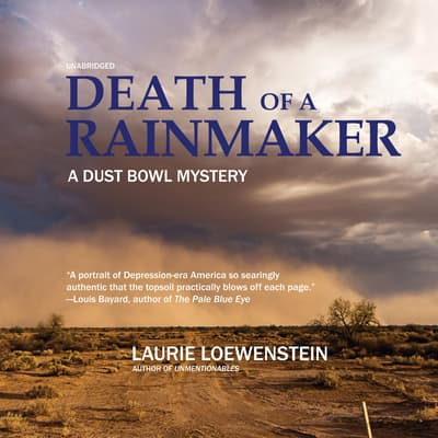 Death of a Rainmaker by Laurie Loewenstein audiobook
