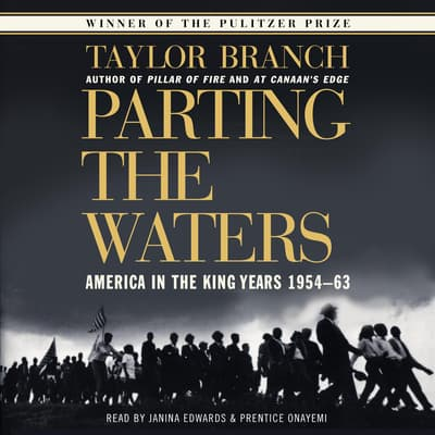 Parting the Waters by Taylor Branch audiobook