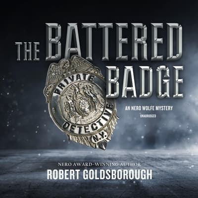 The Battered Badge by Robert Goldsborough audiobook
