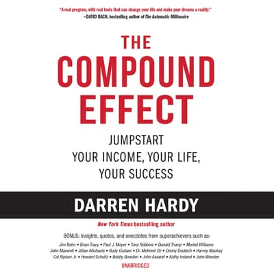 The Compound Effect by Darren Hardy audiobook