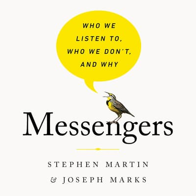 Messengers by Stephen Martin audiobook