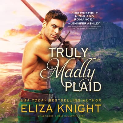 Truly Madly Plaid by Eliza Knight audiobook