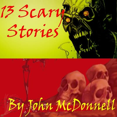 13 Scary Stories by John McDonnell audiobook