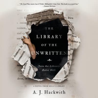The Library of the Unwritten by A. J. Hackwith audiobook