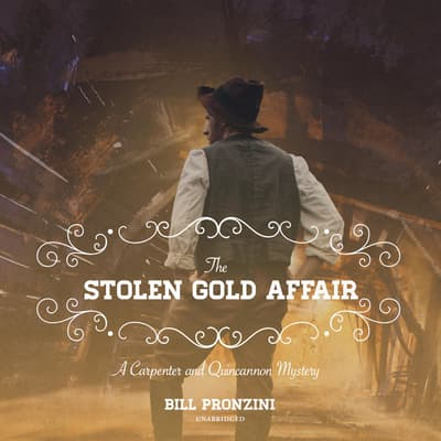 The Stolen Gold Affair by Bill Pronzini audiobook