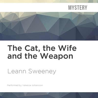 The Cat, the Wife and the Weapon by Leann Sweeney audiobook