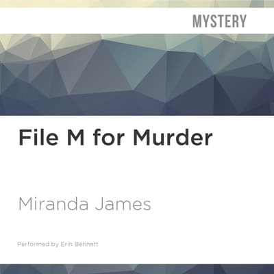 File M for Murder by Miranda James audiobook