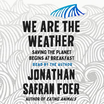 We Are the Weather by Jonathan Safran Foer audiobook