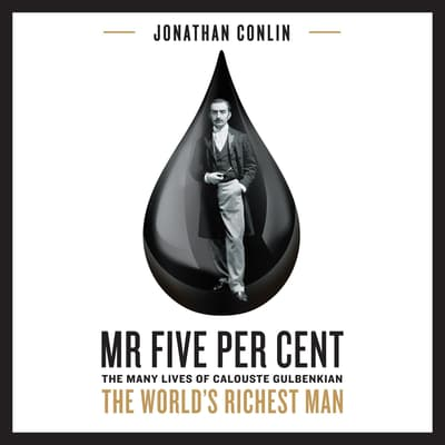 Mr Five Per Cent by Jonathan Conlin audiobook