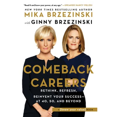 Comeback Careers by Mika Brzezinski audiobook