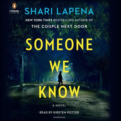 Someone We Know by Shari Lapeña audiobook