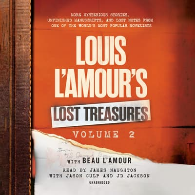 Louis L'Amour's Lost Treasures: Volume 2 by Louis L'Amour audiobook