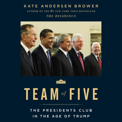 Team of Five by Kate Andersen  Brower audiobook