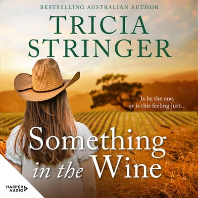 Something in the Wine by Tricia Stringer audiobook