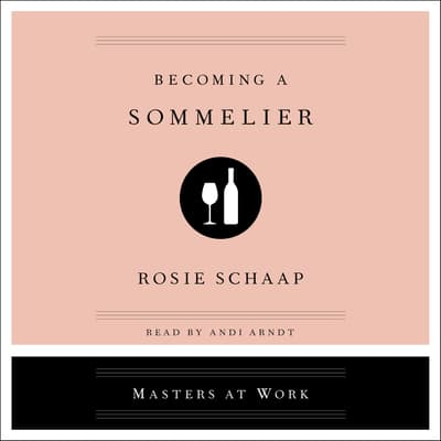 Becoming a Sommelier by Rosie Schaap audiobook