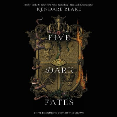 Five Dark Fates by Kendare Blake audiobook