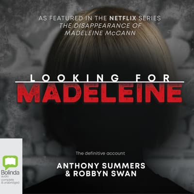 Looking for Madeleine by Anthony Summers audiobook