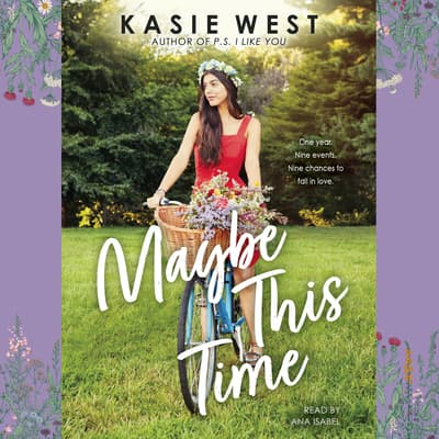 Maybe This Time by Kasie West audiobook