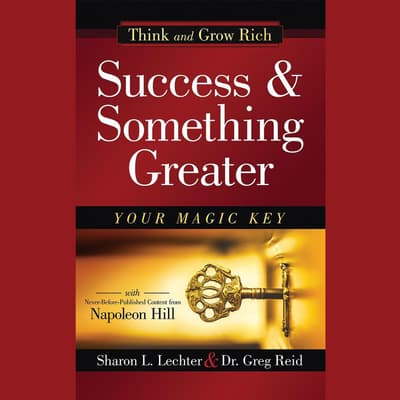 Success and Something Greater by Sharon L. Lechter audiobook