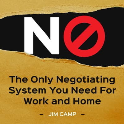 No by Jim Camp audiobook
