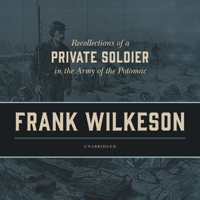 Recollections of a Private Soldier in the Army of the Potomac by Frank Wilkeson audiobook
